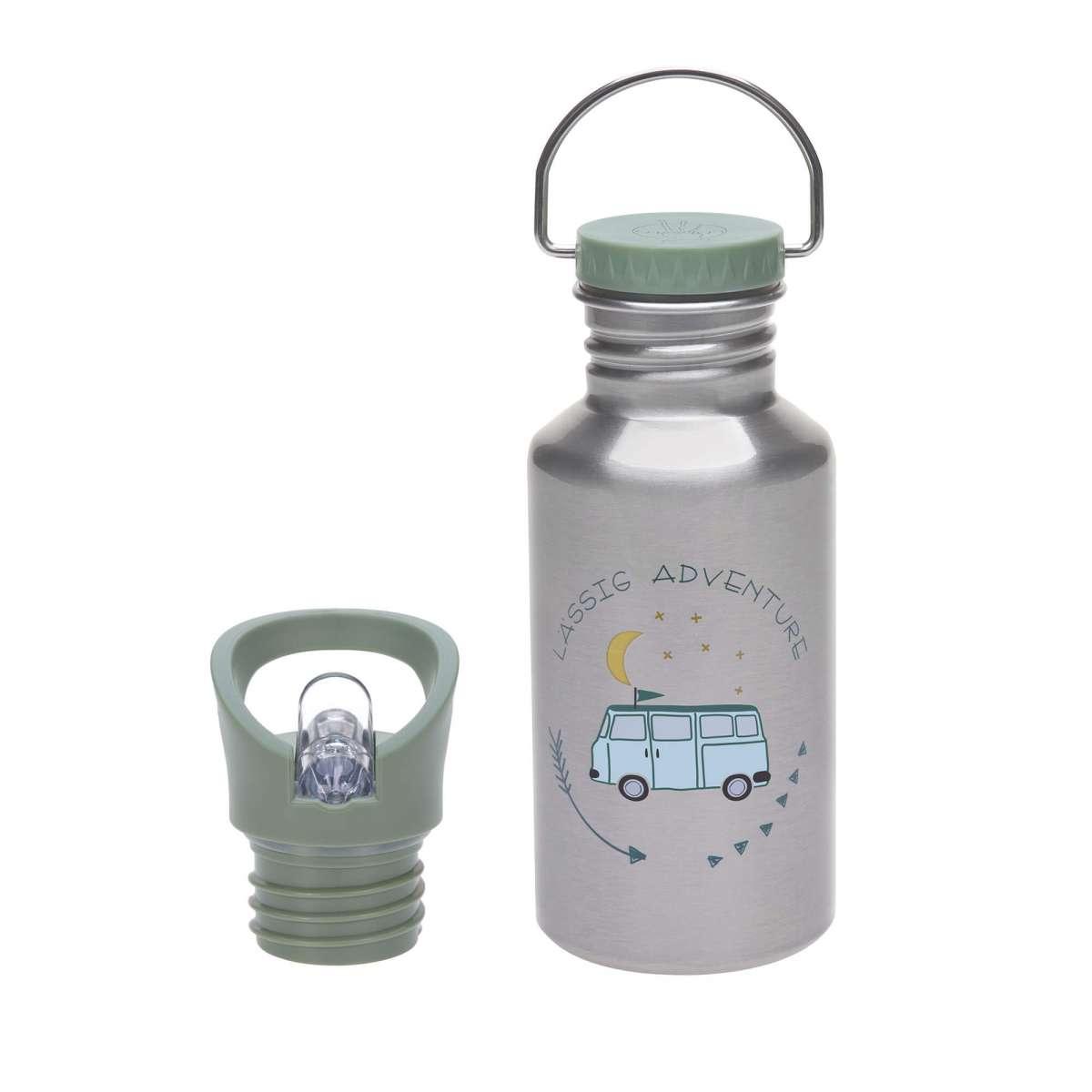 Lässig Trinkflasche Edelstahl Adventure