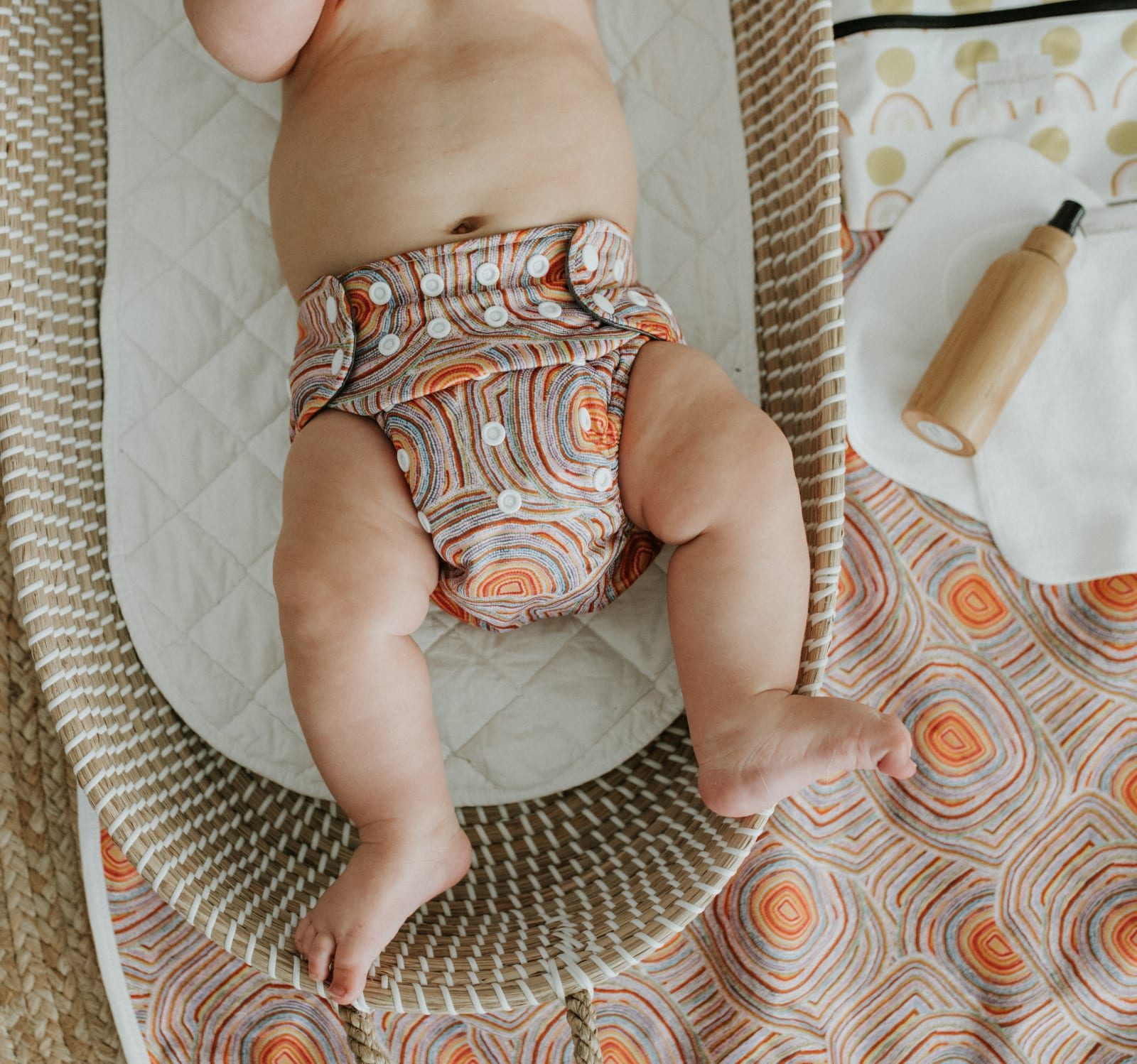 BARE and Boho Snap-in-One Windel Newborn (inkl. Saugeinlage)