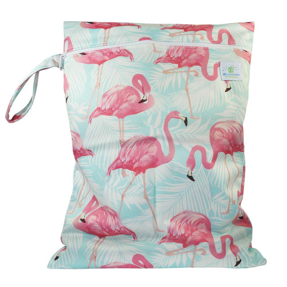 Blümchen Badezimmertasche für Stoffbinden