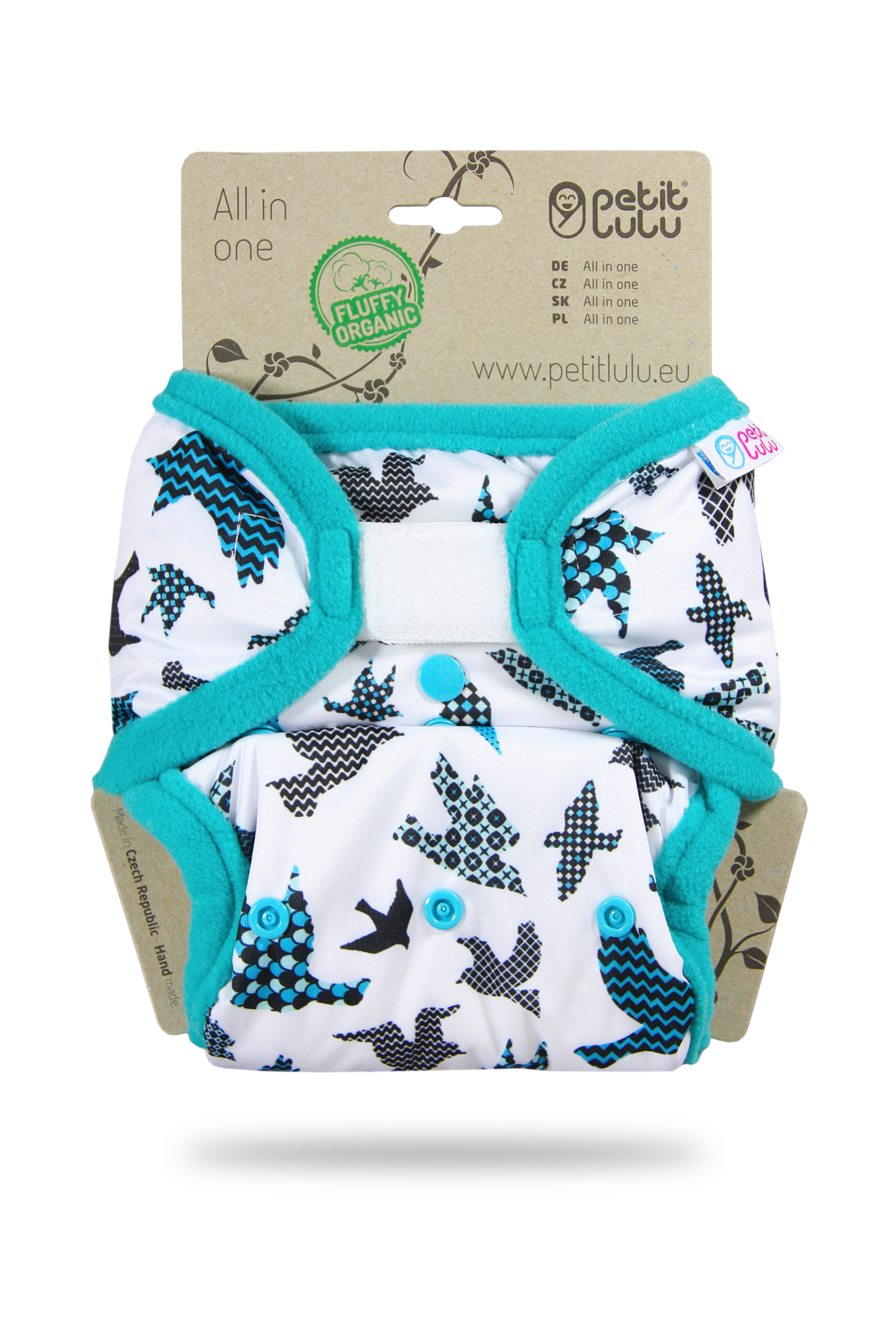 Petit Lulu All-in-One Fluffy Organic One Size