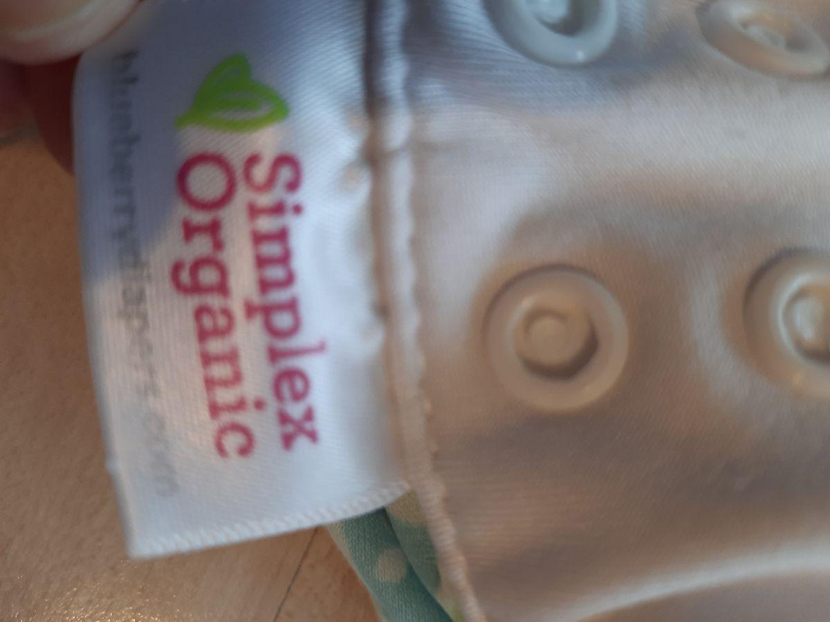 Blueberry Simplex Organic Sidesnap Gr L Baby Birds und Seahorse