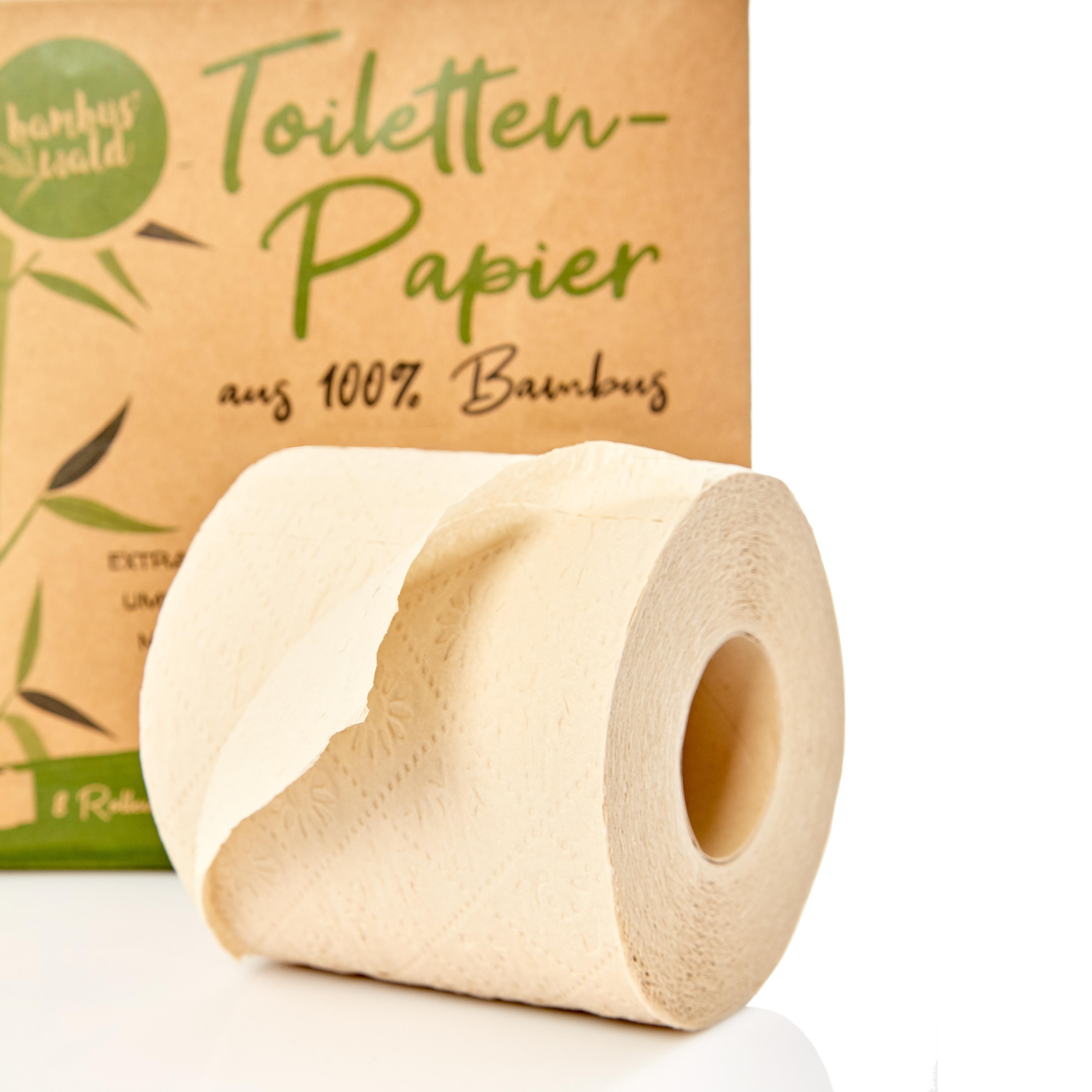 Bambuswald Klopapier 100% Bambus 8 Rollen