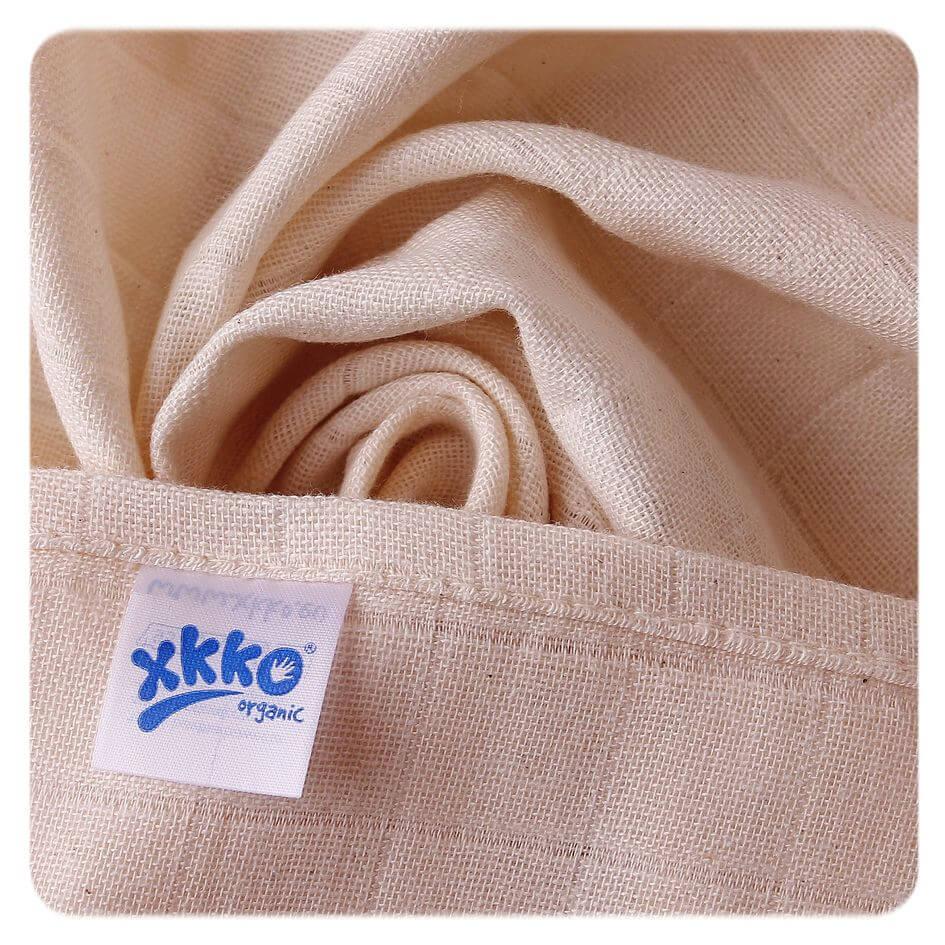XKKO Mullwindeln Bio-Baumwolle 5 Stück