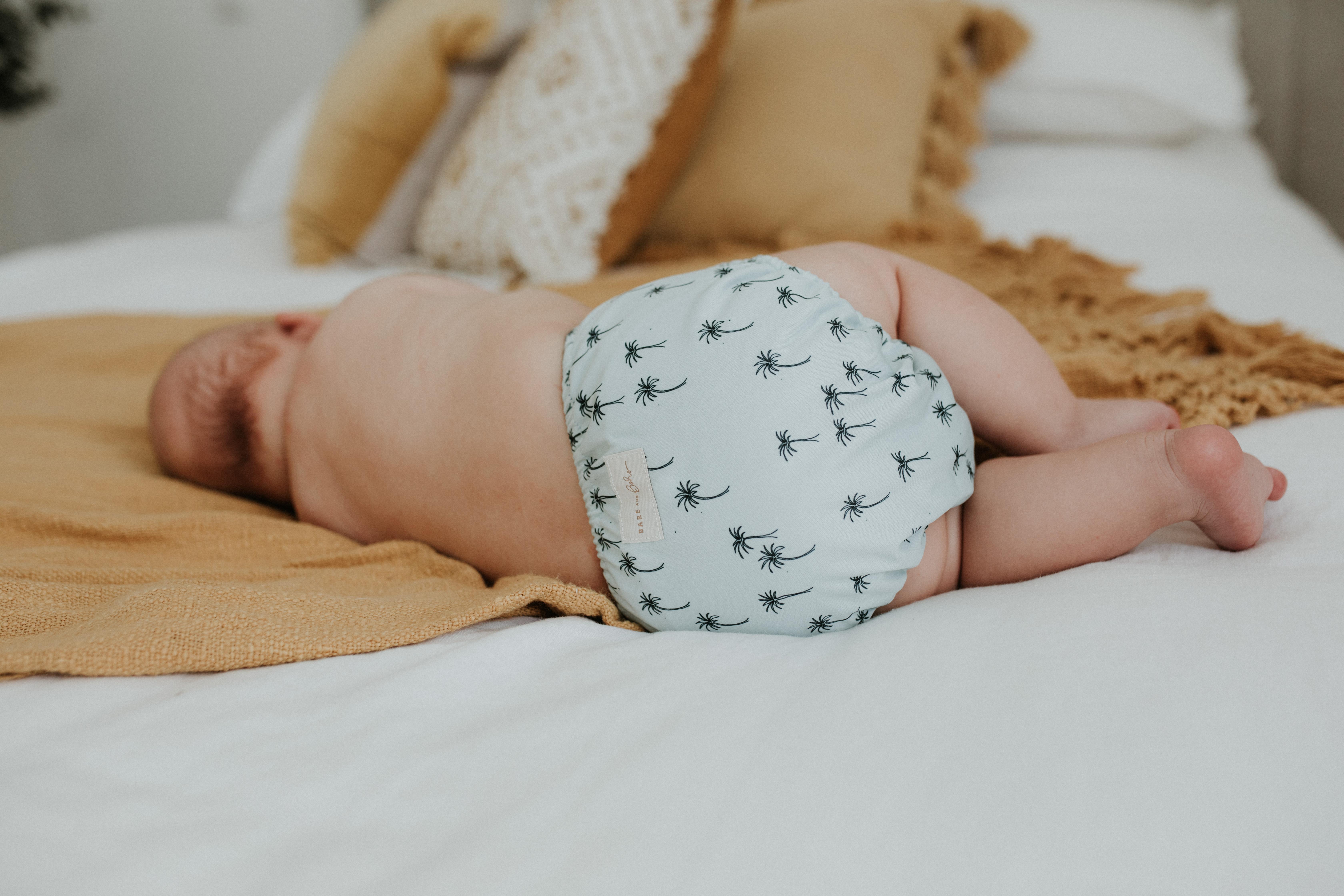 BARE and Boho Überhose Newborn