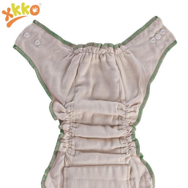 XKKO Höschenwindel Bio-Baumwolle Größe L