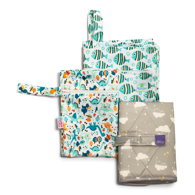 Stoffwindel-Mietpaket für Neugeborene Groß