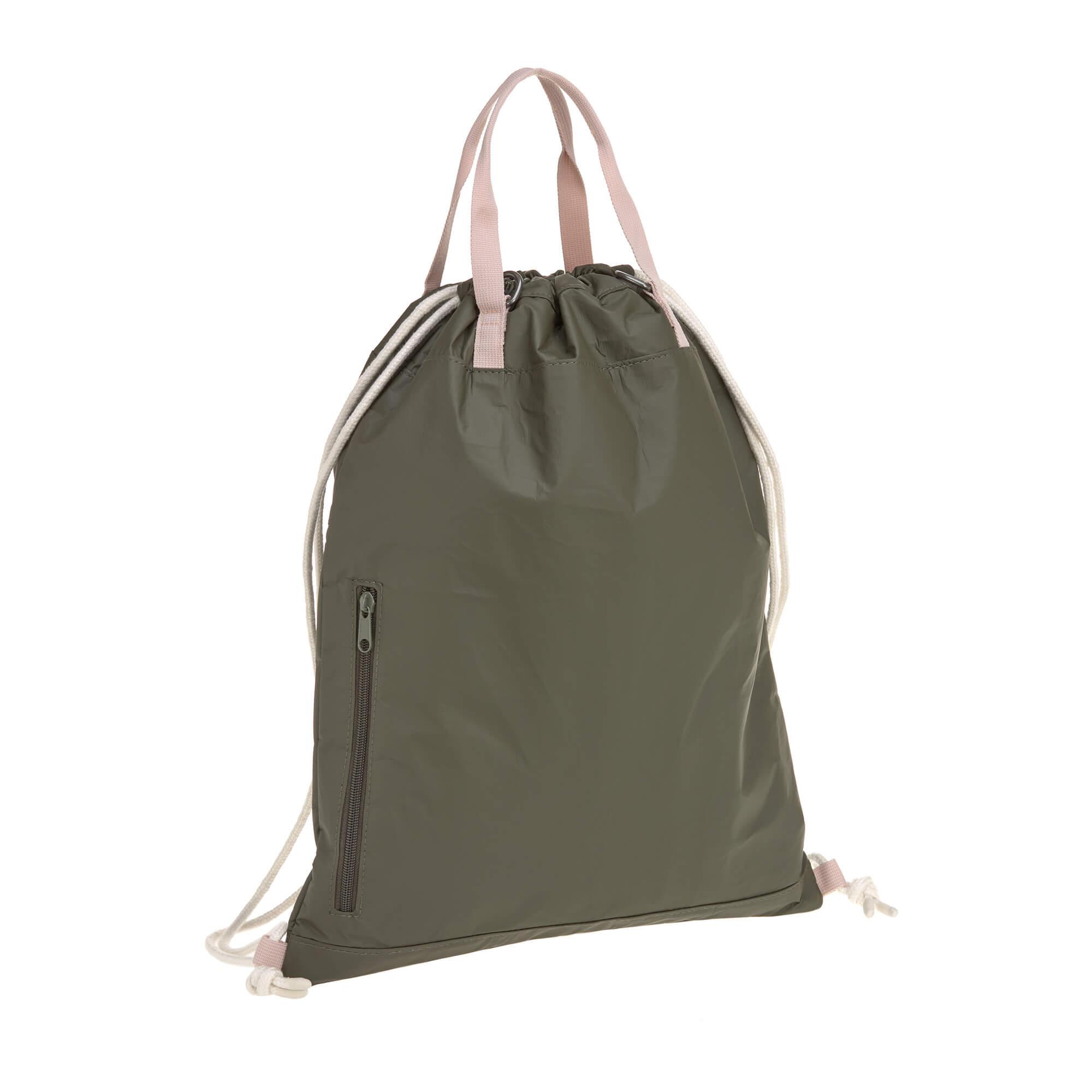 Lässig Wickelrucksack String Bag