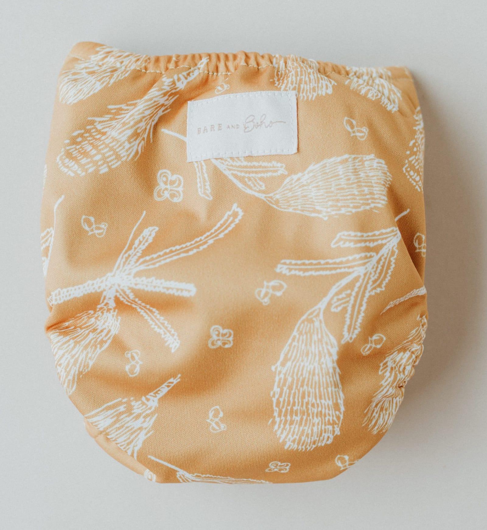 BARE and Boho Snap-in-One Windel Newborn (inkl. Saugeinlage)