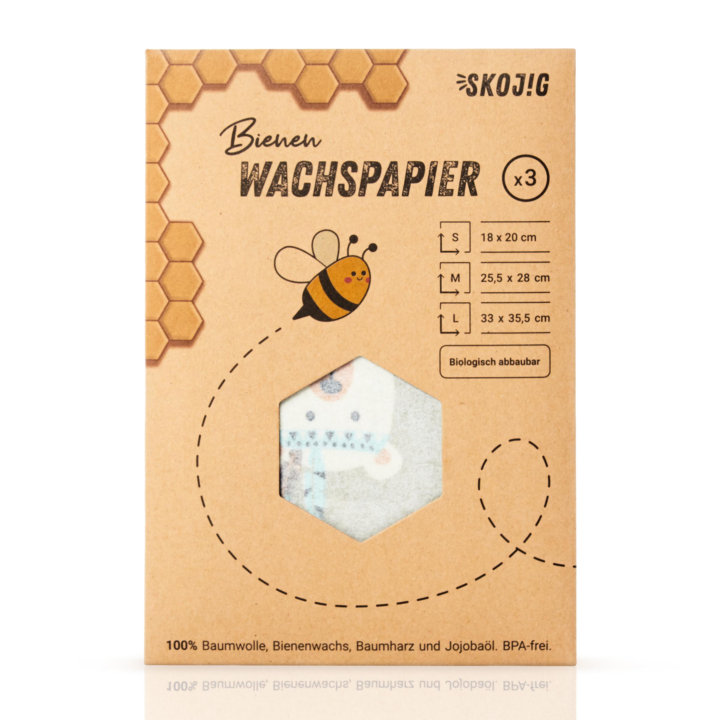 Skojig Bienenwachstücher