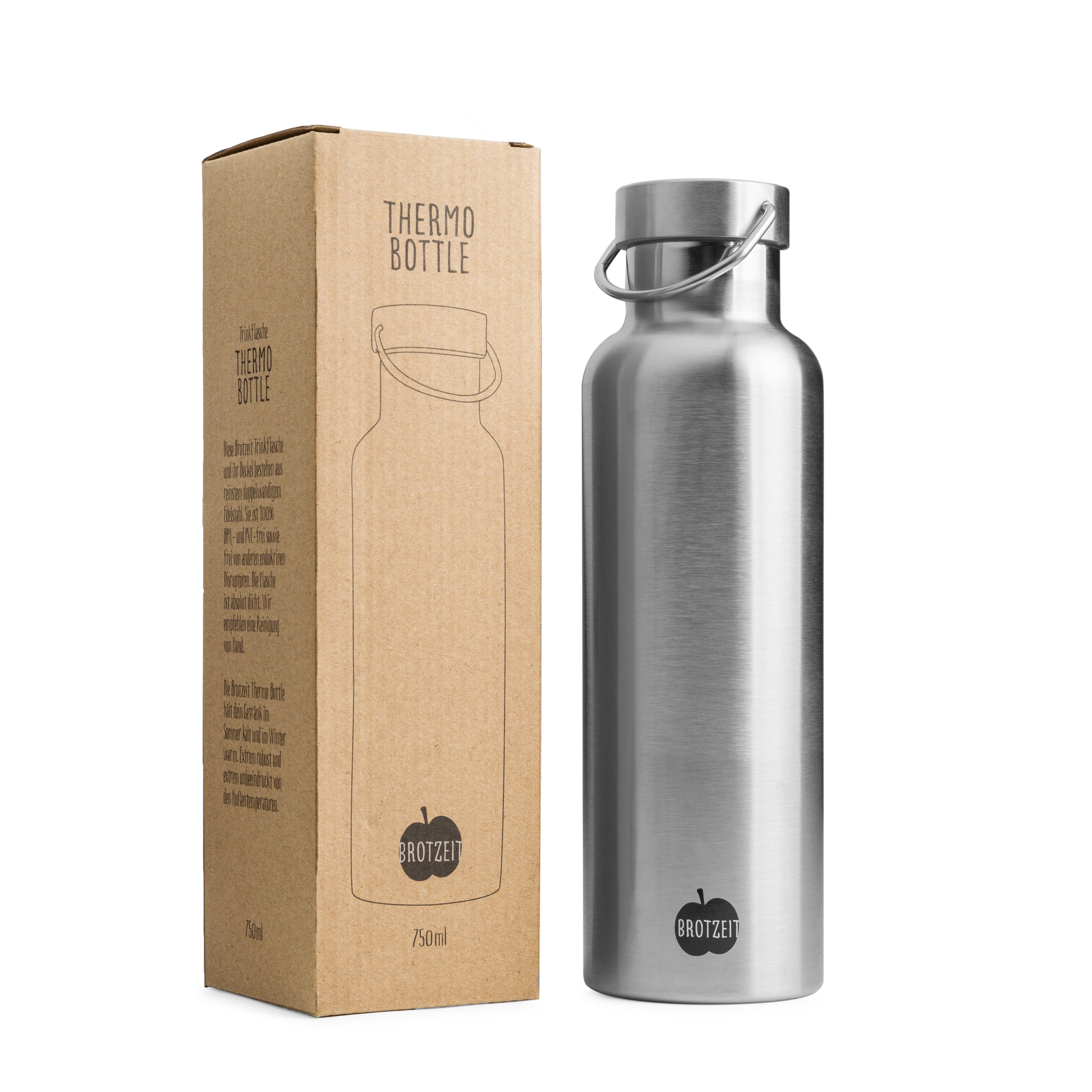 Brotzeit Thermosflasche Edelstahl 0,75l