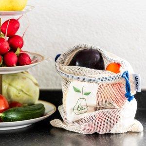 Skojig Obst- und Gemüsebeutel 4 Stück