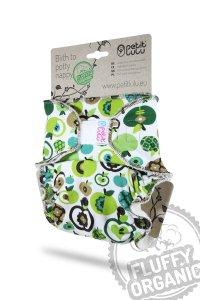 Petit Lulu Höschenwindel Fluffy Organic One Size mit Klettverschluss