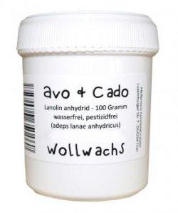 Avo&Cado Wollwachs 100g