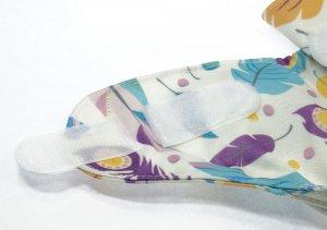 Blümchen Überhose One Size mit Klettverschluss