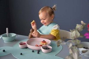 Lässig Kinderteller Silikon Little Chums