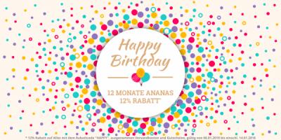 12 Monate Ananas - Unsere Geschichte