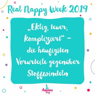 Real Nappy Week 2019 – die Internationale Stoffwindelwoche