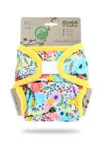 Petit Lulu All-in-One Fluffy Organic One Size